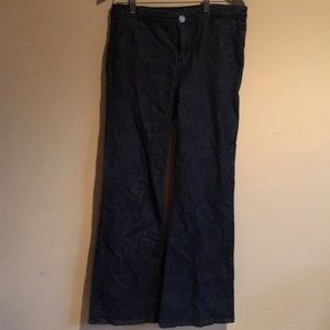 Kut from the Kloth Dark Wash Wide Flare Size 8